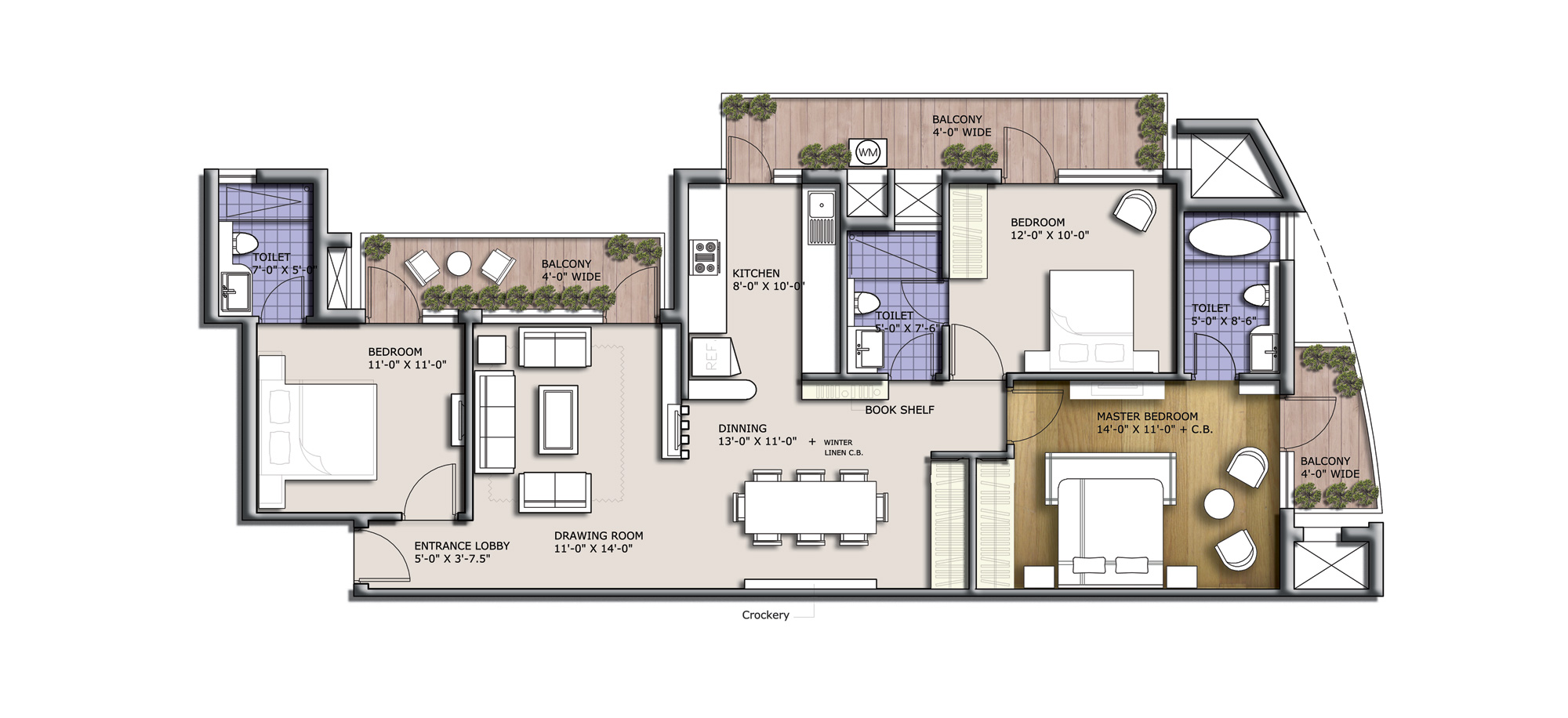 discovery park 1625 sq feet floor plan