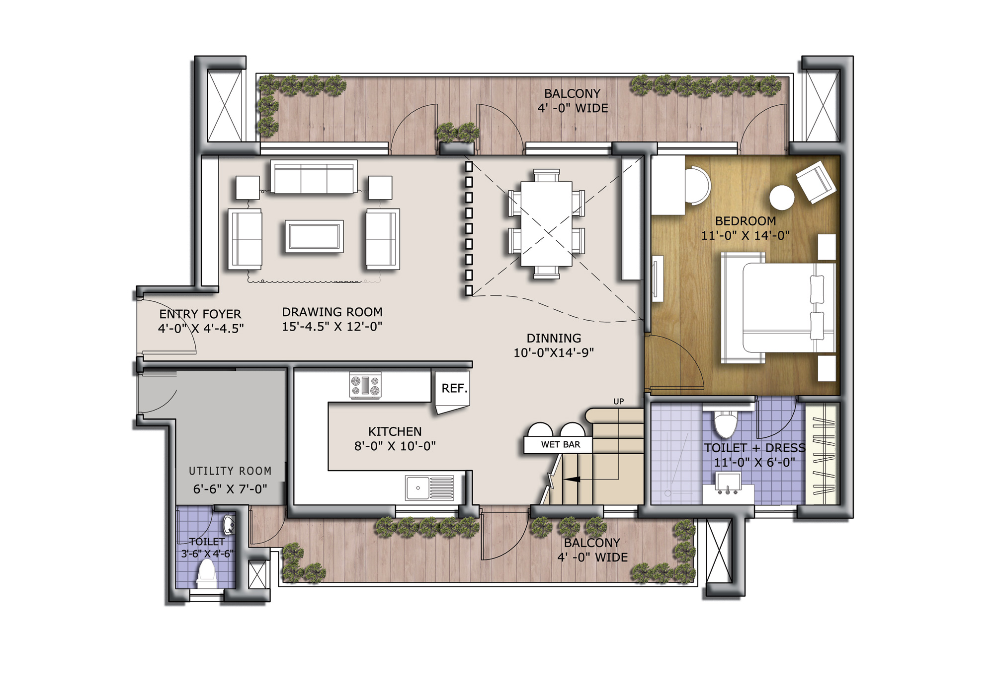 discovery park floor plan