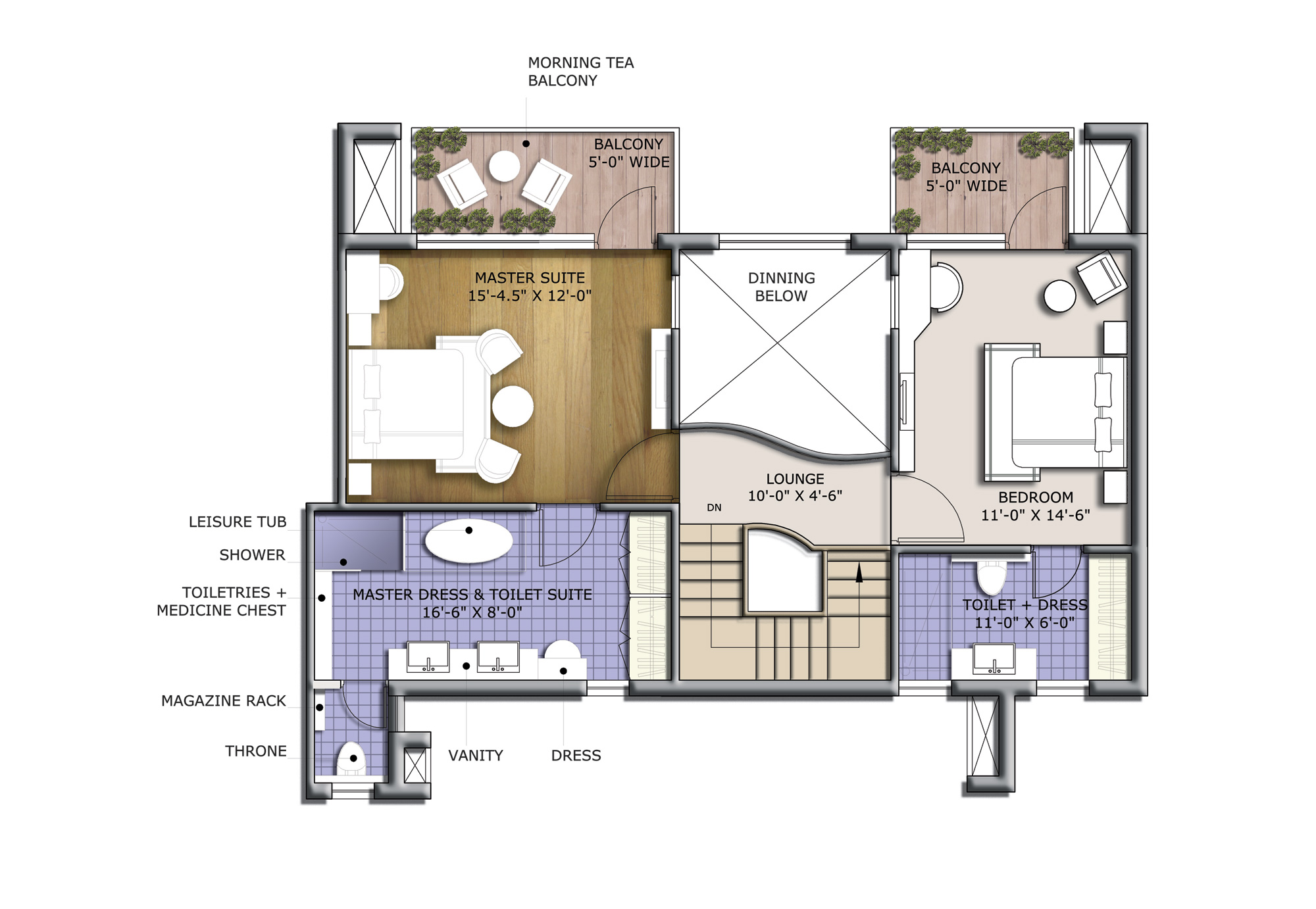 discovery park 2440 sq feet floor plan
